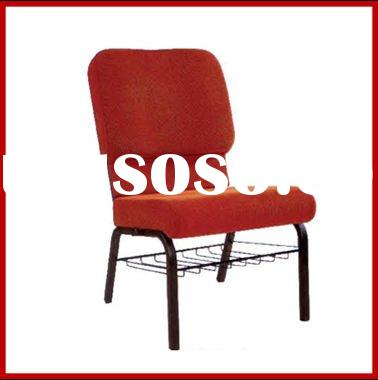 Hot sale metal stacking used church chairs
