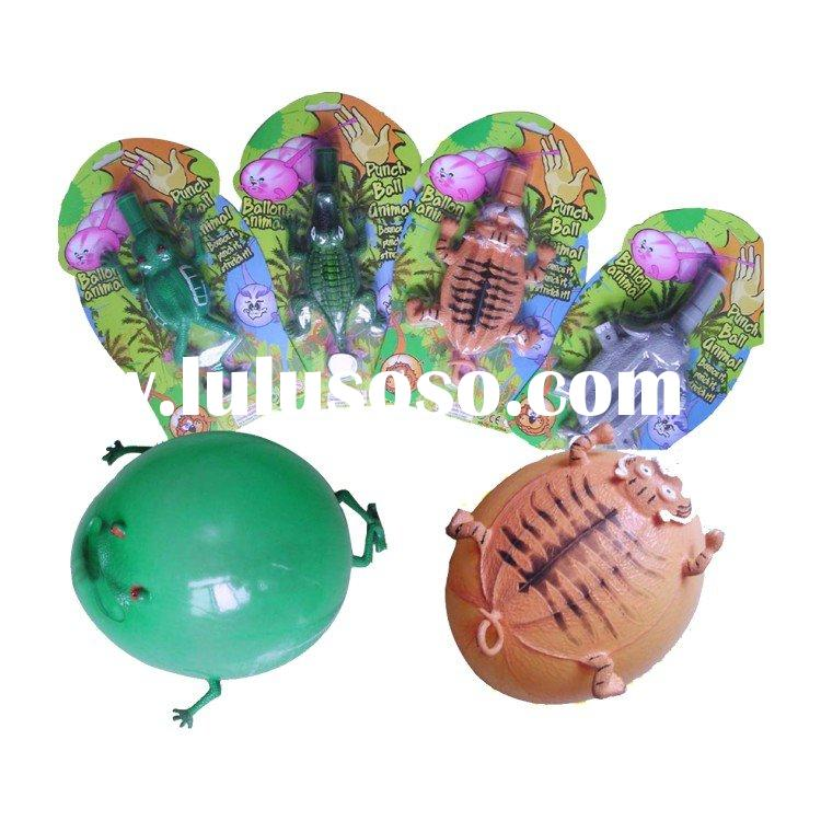 Inflatable animal, Balloon toy,Paunch Ball, plastic toy