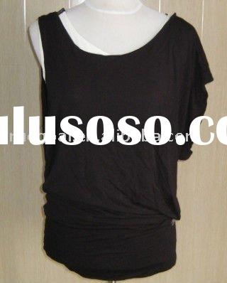 Ladies' knitted casual top