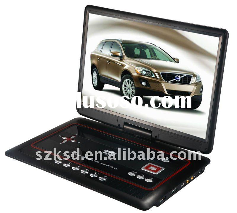 Large size 15.6 Inch portable dvd player with tft screen