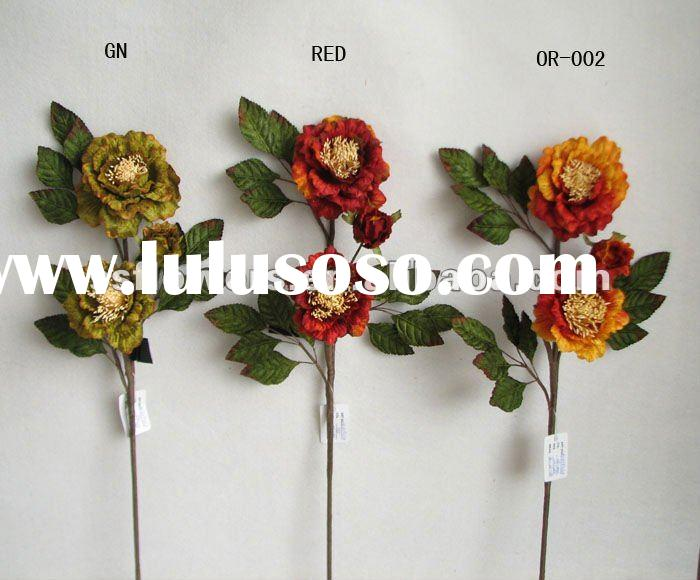 "Latest Artificial Flowers Fall Collection 24"" Velvet Flowers"