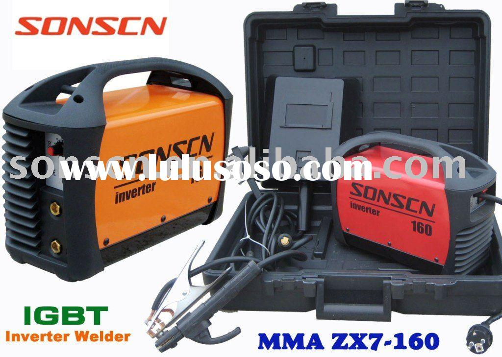 MMA Series portable DC inverter electric welder ZX7-160