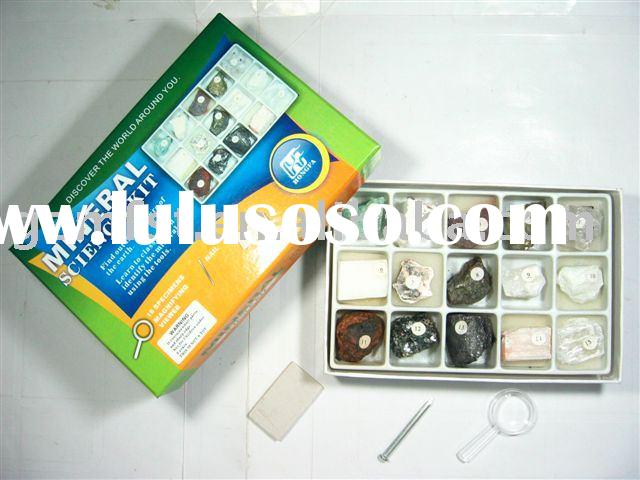 Mineral specimen collection,teaching tool