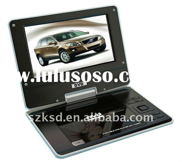 Mini 7inch portable dvd player with tft screen
