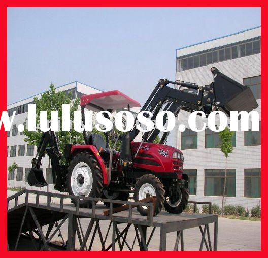 Mini Original JINMA254/354 Series Farm Tractor with backhoe and front end loader