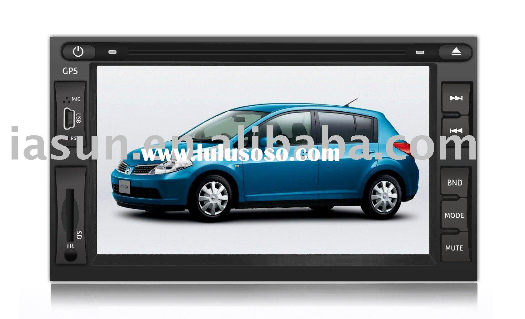 NISSAN TIIDA car DVD player with GPS