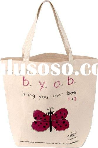 Natural Cotton Bag For Advertising