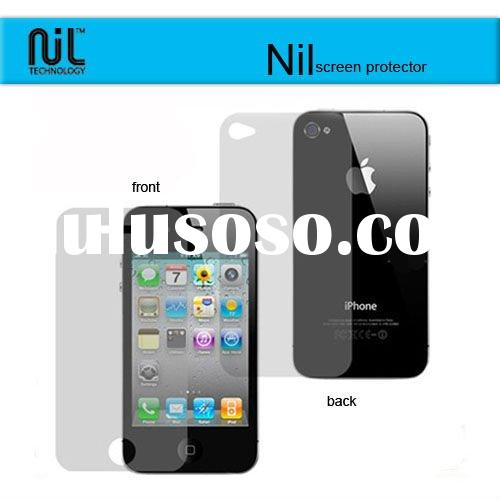 Nil For iphone 4 PC material mobile phone screen protector
