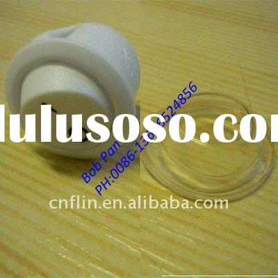 OFF/ON White Rocker Switch Round + waterproof cover