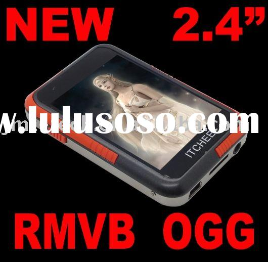 Orange Cheap 4TH mp3 mp4 Mp5 Rmvb OGG Portable Digital Media Audio multimedia player fm radio TFT LC