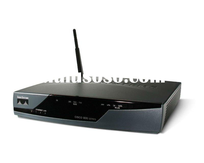 Original and 100% Genuine Cisco Wireless Router CISCO857W-G-E-K9