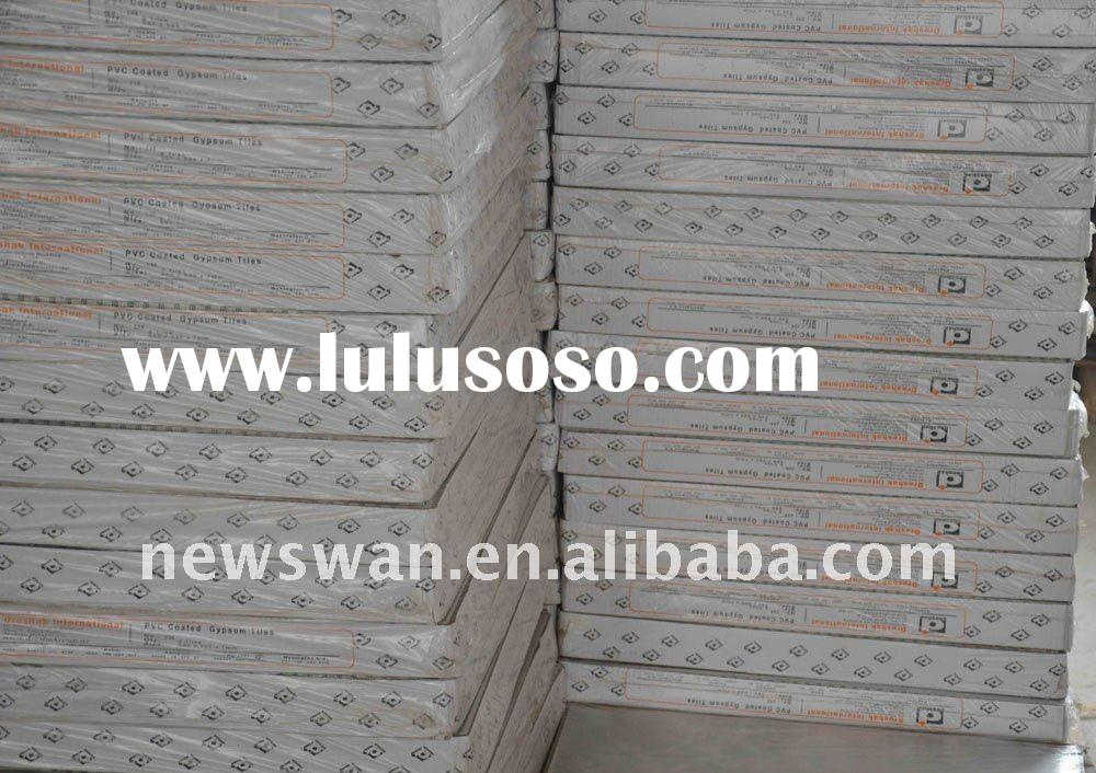 PVC Gypsum Board Suspended Ceiling Panels