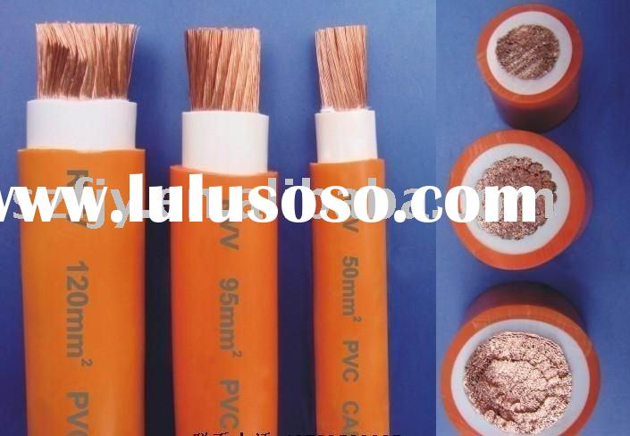 PVC insulated welding cable welding wire