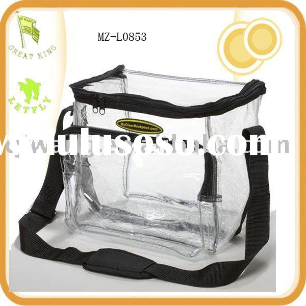 PVC lunch bag,clear lunch bag
