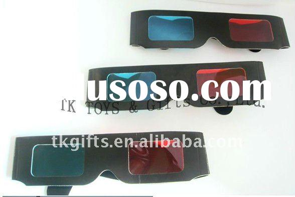 Paper glasses for 3D film