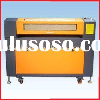 Plastic laser cutting machine in sales promotion