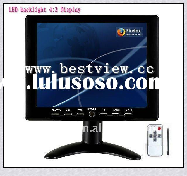 Portable 4:3 LED backlight 8 inch TFT lcd touch screen monitor