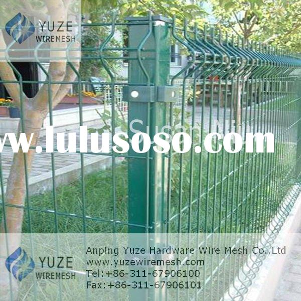 Powder Painted Welded Wire Fence Panel