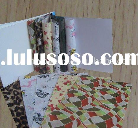 Printed polyester nonwoven fabric used for tents and bags