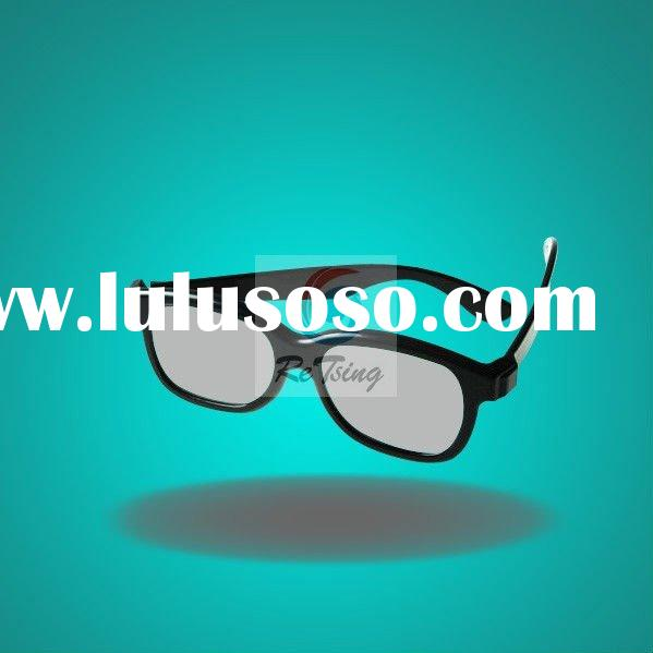 Real D Plastic Circular Polarized 3D Glasses For Movie And TV