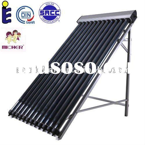 SRCC and Solar Keymark approved solar collector