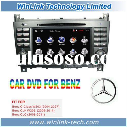 Special car audio gps for Mercedes-Benz W203 W209 CLC