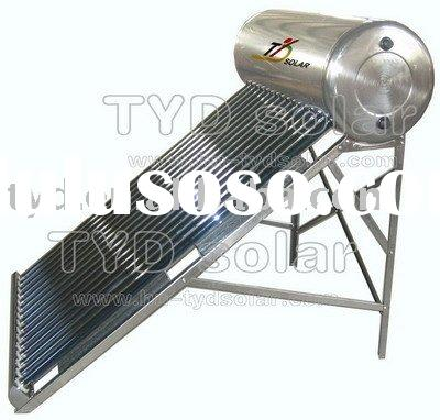 Stainless Steel Evacuated Tube Integrative Unpressurized Solar Water Heater