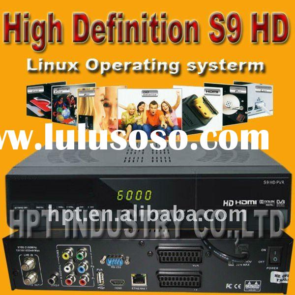 Support Linux Operating System Card Sharing S9 SET TOP BOX hd