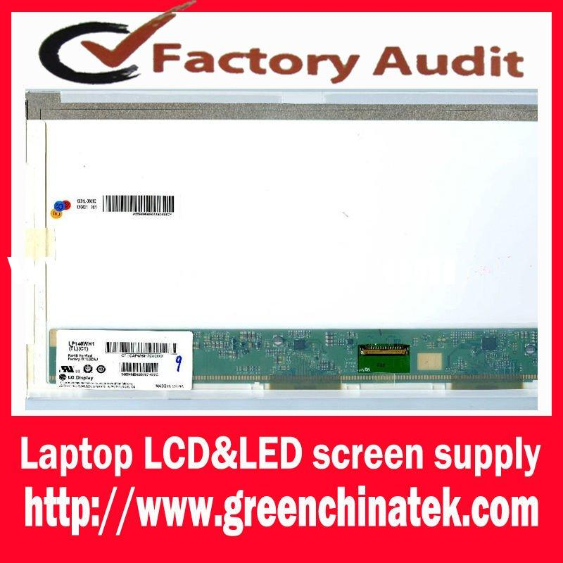 TFT 14 inch led screen LP140WH1 (TL)(A2) for DELL Samsung notebook parts laptop led screen
