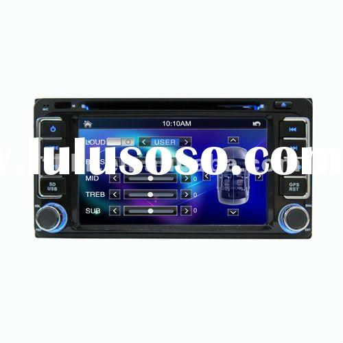 THC New Toyota Hilux/vios DVD 7 inch HD touch screen double din Car Radio/ Car DVD GPS