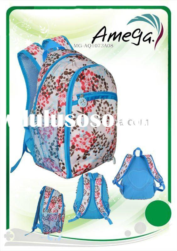 Teen-agers school backpacks for girls