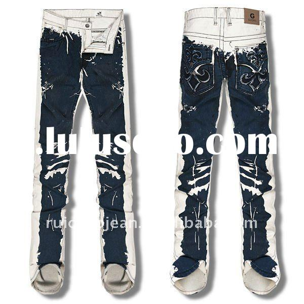 The Latest design Best Quality Italian Jeans Men Pants GN520002-4
