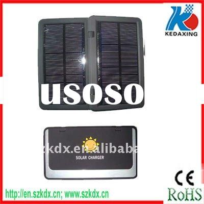 Two solar panel high power cell phone charger for digital products and fit for iphone4s KDX-T6650