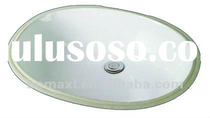 Under counter small oval ceramic sinks