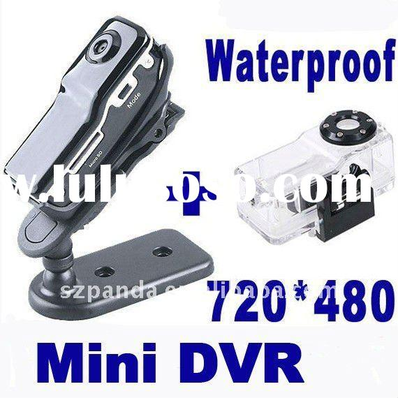 Voice-activate MD80 mini DV + Waterproof Box Case