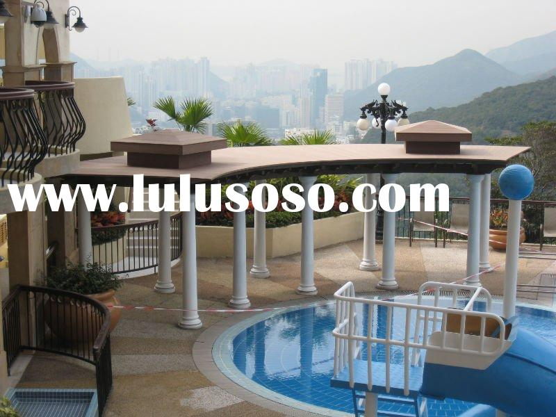 WPC ,wood plastic composite with good quality,easy install wpc