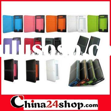 Wallet ID Credit Card Leather Case for iPhone 4 4G