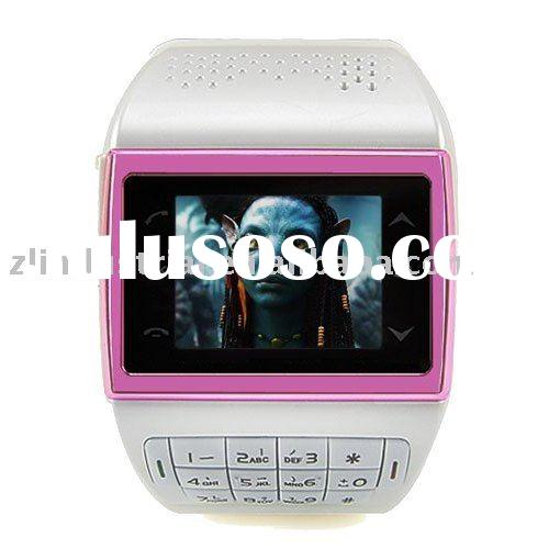 Wholesale AVATAR ET-1 Watch Phone Quad Band Numberic Keypad Unlocked MP3 MP4 GSM Cell Phone
