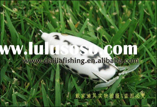 Wholesale and retail BASS FISHING LURE high quality artificial soft frog lure