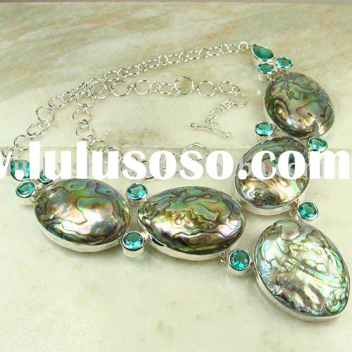 Wholesale natural shell necklace Abalone Shell mixed style Jewelry