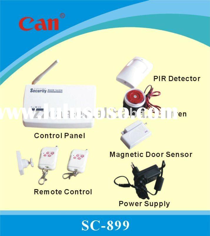 Worldwide Best Sale Multi-function GSM Wireless Home/Business Security Alarm System SC-899