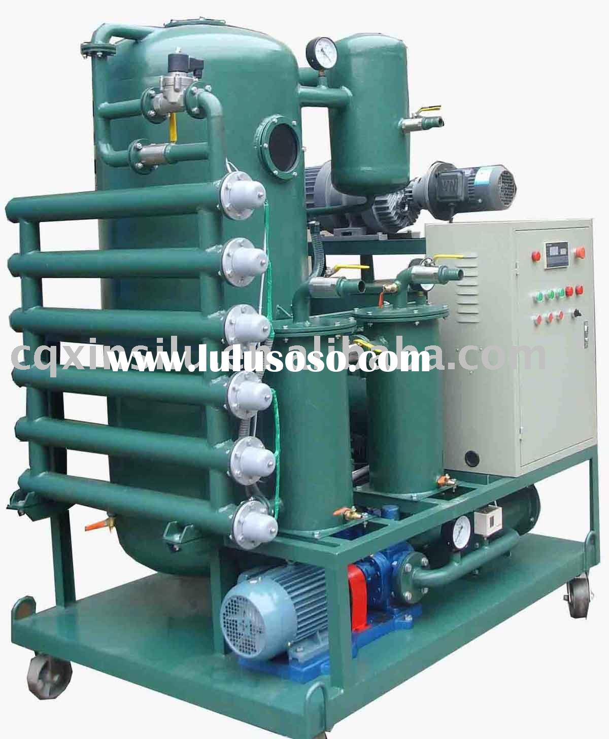 XL-110J vacuum waste oil cleaning equipment
