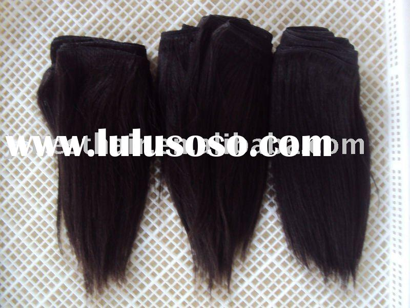 Yaki Indian remy human hair extension/weft
