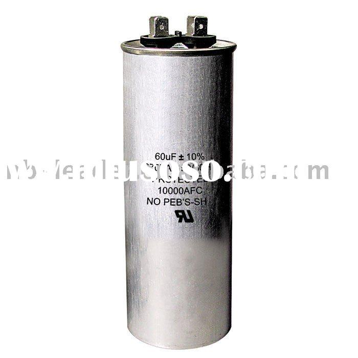 ac motor run capacitor of air conditioner parts with UL