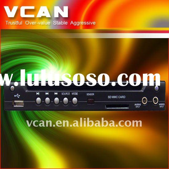 car Half-Din DVD player AVI/VCD/MP3/CD Player Built-in SD/USB Port