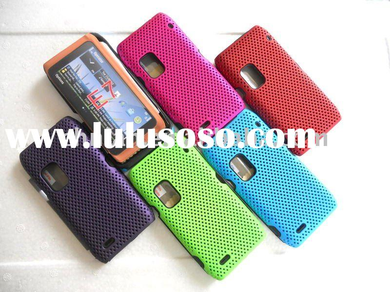 combo case for nokia E7 mesh designs(high quality,fast delivery)
