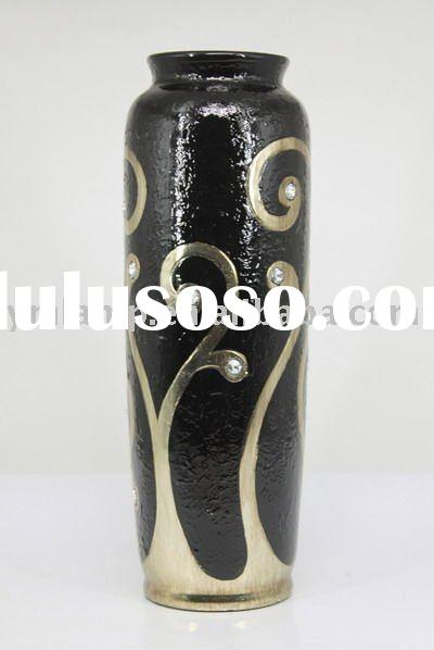 decorative hand painted vase