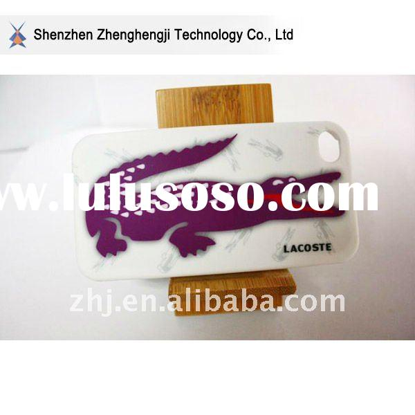 fashion design crocodile plastic case for iphone4