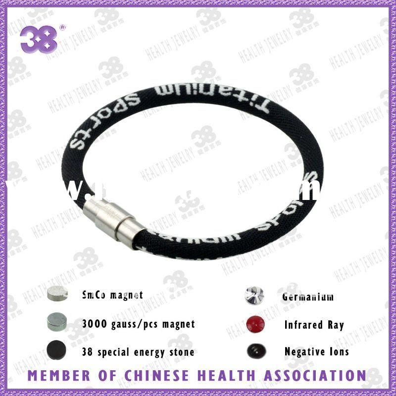 fashion healthy power energy balance silicone bracelet