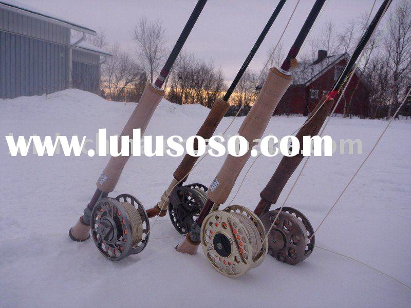 fly fishing reel and rod